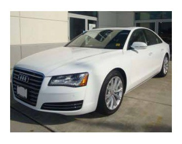 2011 Audi A8 for $85,425