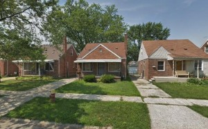 900 sq.ft. Single family home, Detroit, Michigan