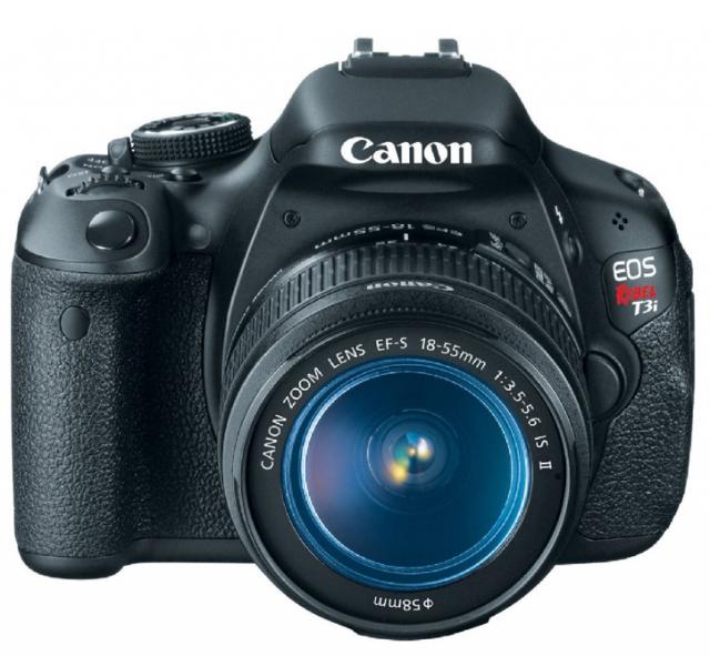 Canon EOS Rebel T3i 18 MP CMOS Digital SLR Camera